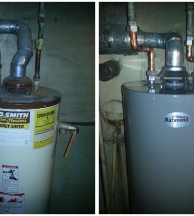 Water Heater Replacement Glen Ellyn IL